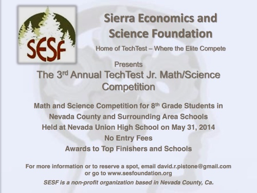 TechTest Jr Flyer - 2014