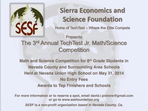 TechTest Jr Flyer - 2014